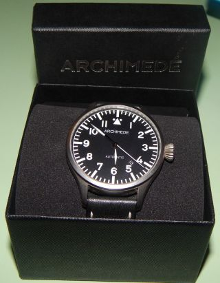Archimede - Pilot 42 Automatic - Armbanduhr - Herrenuhr - Wie - Sammler Bild
