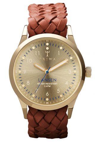 Triwa Uhr Gold Lansen Armbanduhr Last108.  Mb01 Bild