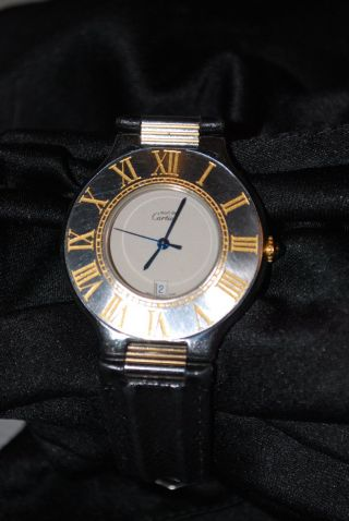 Cartier Must De Cartier 21 Damen Herren Unisex Armband - Uhr Bild