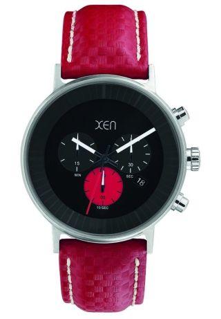 Xen Herren Chronograph Rot Xq0201 Bild
