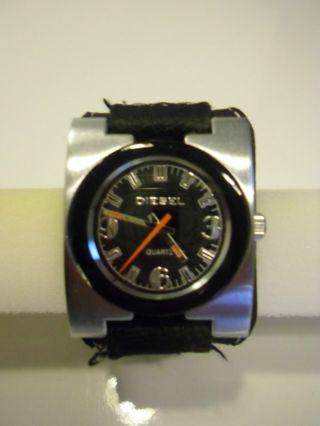 Diesel Herren Uhr Armbanduhr Analog Schwarz Bild