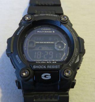 Casio G - Shock Solar Funkuhr Uhr Uhren Gw - 7900b - 1er Bild