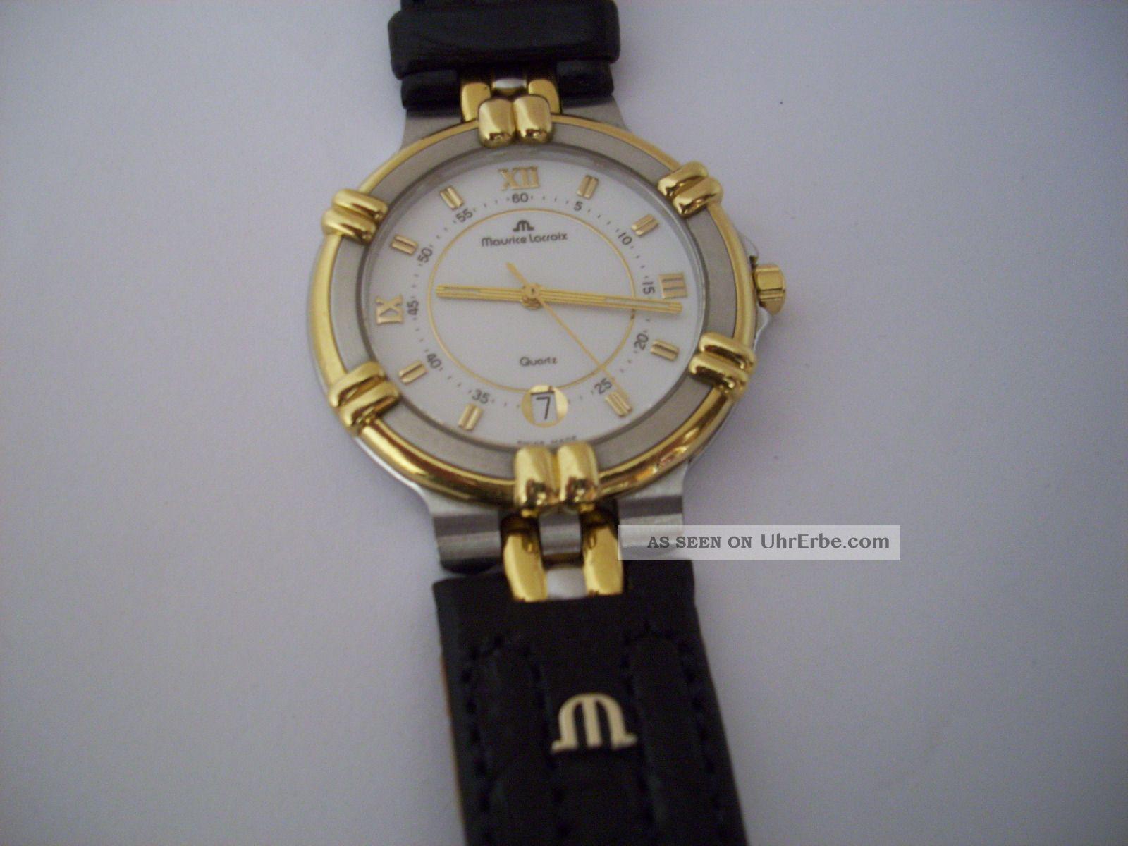 Damen/herren Armbanduhr Maurice Lacroix Calypso - Quarz Armbanduhren Bild