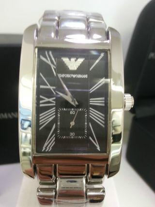 Neue Emporio Armani Uhr Ar0156 Herrenuhr Mit Orig.  Box Bild