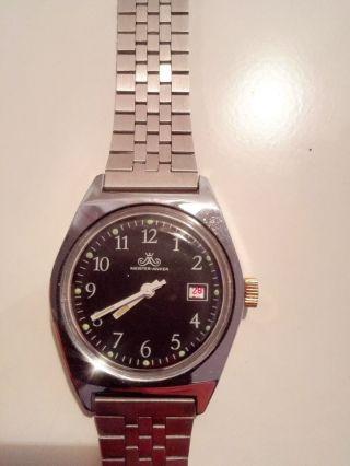 Seltne Meister Anker Herrenuhr Handaufzug Deutsche Uhr Made In Germany Bild