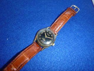 Vw Armbanduhr Von Mauthe Handaufzug - 100 000 Km Bild