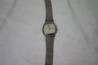 Longines Klassische Herrenuhr Edelstahl Quartz Mit Armband Bild