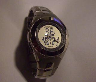 Casio Uhr Data - Bank Edb - 300 Edelstahlarmband Telf.  Speicher Sammler Selten Rar Bild