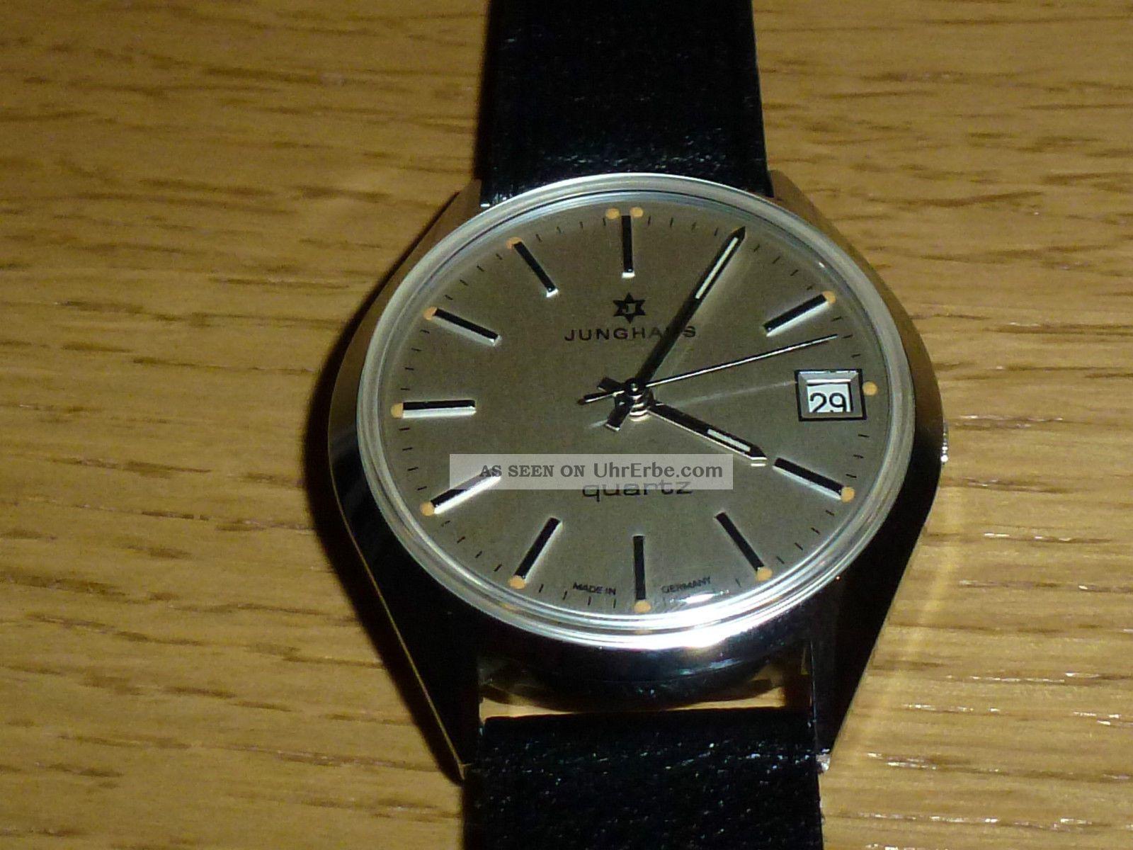 Junghans Quartz Herren Armbanduhr Analog Armbanduhren Bild