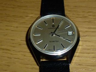 Junghans Quartz Herren Armbanduhr Analog Bild