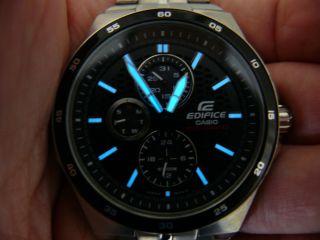 Casio Edifice 5166 Ef - 340 Herren Flieger Armbanduhr 10 Atm Wr Watch Bild