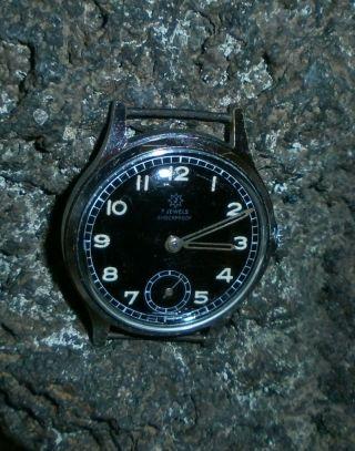Vintage Junghans 40er Jahre Dienstuhr Militäruhr Design Armbanduhr Bild
