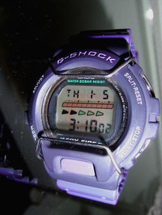Casio G - Shock Fox Fire In Lila Dw 6630b Mit Neuer Batterie,  Läuft Bild