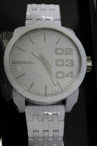 Diesel Franchise Herren Armbanduhr Kunststoff 5 Bar Dz1461 - Weiß Bild