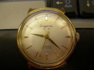 Alte Armbanduhr 17 Rubis Incabloc,  Antichoc Bild