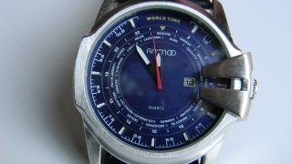 Animoo Xxl Herren Armbanduhr Leder Animo G - 400345 Bild