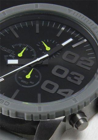 Diesel Herren - Armbanduhr Xl Franchise - 51 Chronograph Quarz Uhr Dz4254 Bild