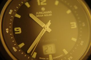 Junghans Mega Solar Titan In Topzustand Bild