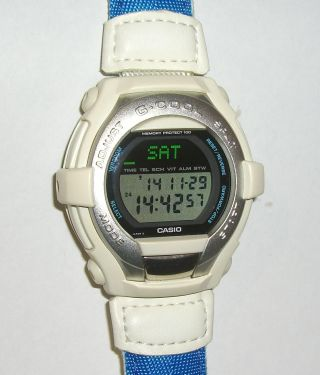 Casio G - Shock Gt - 000 Selten Sammler Uhr Rar Data - Bank G - Cool 1524 Bild
