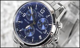 Tissot T - Sport Prc 200 Edle Armbanduhr Herren Chronograph Tauchen (t17.  1.  586.  42) Bild