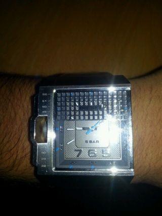Diesel Dz1309 Herrenuhr Leder Braun Np 129€ Armbanduhr Wie Bild
