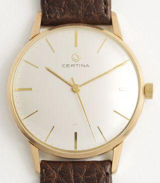 Certina Klassische,  Elegante Armbanduhr.  Top Swiss Made Vintage Dress Watch. Bild