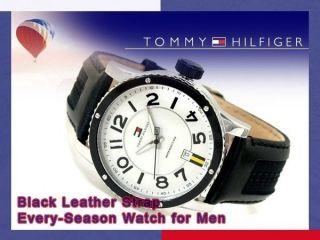Tommy Hilfiger 1790675 Uhr Herrenuhr Lederarmband Edelstahl 50m Analog Datum Bild