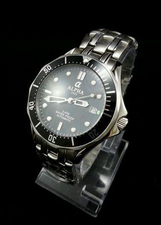 Alpha Seamaster Automatik Herren Armbanduhr Bild