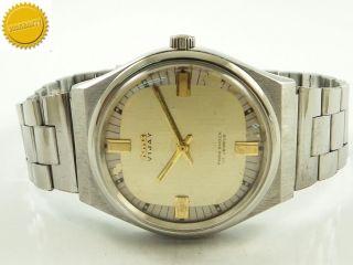 Hmt Vijay Vintage Indian Herrenuhr Bid2win Dieser Seltene Uhr Bild