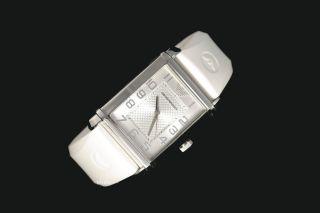 Emporio Armani Herrenuhr Herren Uhr Silikonband Weiß Silber Ar0498 / Ar 0498 Bild