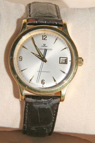 Jaeger - Lecoultre Master Control Armbanduhr Für Herren Bild