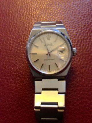 Rolex Herrenarmbanduhr Bild
