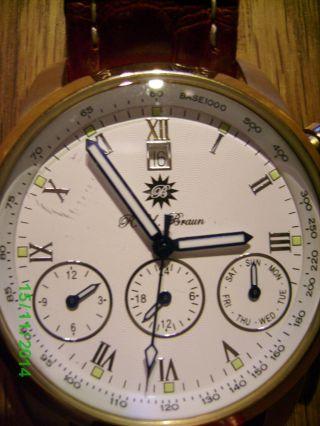 R.  U.  Braun Automatic Uhr Bild