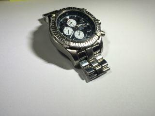 Breitling Avenger A13370 Chronograph Chronometer Stahl/stahl Schwarz Bild