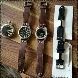 5tlg Uhrenset Uhren Taschenuhr Wow Atlas For Men Bild