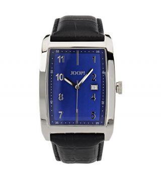 Joop Herren Uhr Geschenk Für Mann Ihn Blau Schwarz Luxus Bild