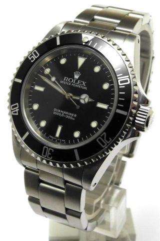 Rolex Submariner No Date Ref.  14060 U Serie 1998 Bild