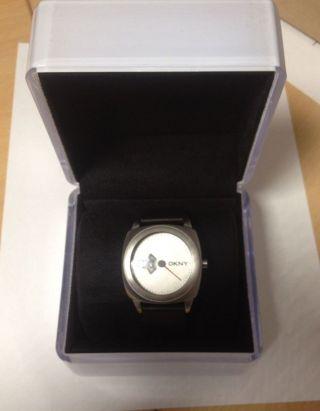 Dkny Herren Armbanduhr Ny 1215 Scheibenuhr Bild