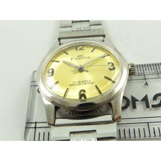 Fortis Swiss Armbanduhr Handaufzug Mechanisch Vintage Sammleruhr 153 Bild