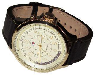 Tommy Hilfiger Watch Uhr Herrenuhr Uhren Chronograph Mit Box Gold - - - - Bild