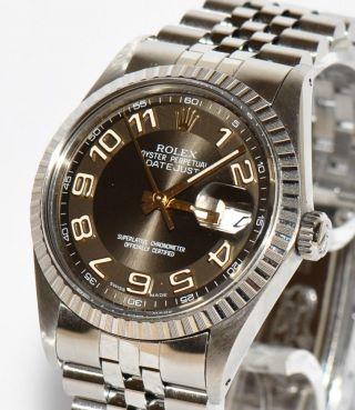 Rolex Datejust Ref.  16030 Stahl Uhr 36mm Papiere Box 1988 Bild