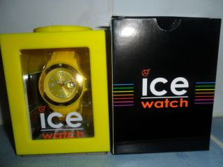 Ice - Watch Armbanduhr Sili - Forever Unisex Medium Gelb Si.  Yw.  U.  S.  09 Ovp Bild