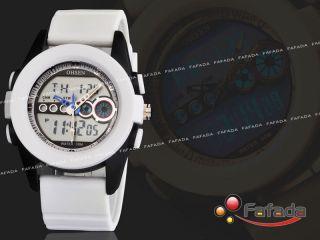 Fafada Ohsen Digitaluhr Herren Damen Armbanduhr Sportuhr Quarzuhr Uhr Uhren Weiß Bild