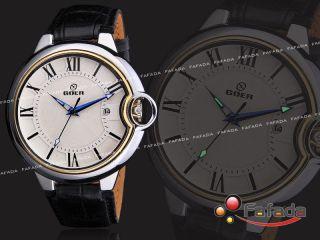 Goer Mechanisch Herren Armbanduhren Analog Uhr Automatik Herrenuhr Datumsanzeige Bild