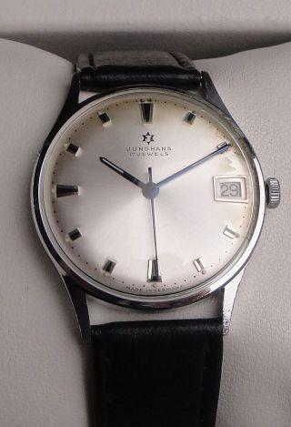 Klassische Vintage Armbanduhr Junghans – Handaufzug - Cal.  620.  02 – Mit Datum Bild