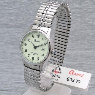 Damenarmbanduhr Garde Ruhla Quarz Präzisa 6700 - 7 Elastisches Armband Flexband Bild