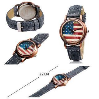 Lafissimo Designer Uhr Usa Vintage Jeans Armband Damen Alt Gold Bronze Bild
