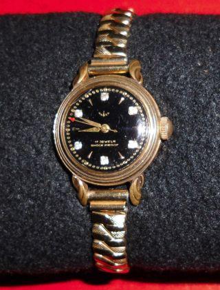 Sehr Alte Anker Damenarmbanduhr,  17 Jewels Bild