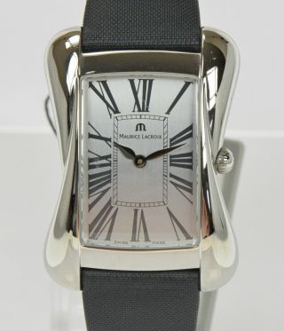 Maurice Lacroix Damenuhr Edelstahl Devina Uhr Luxusuhr Armbanduhr Nr.  1459 Bild