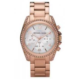 Michael Kors Mk5522 Damenuhr Armbanduhr Rosegold Farben Ovp Bild